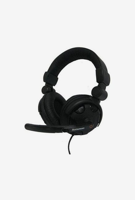 Lenovo P950 Wired Over the Ear Headset (Black)