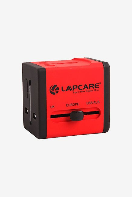 Lapcare NT580 Travel Adaptor (Red)