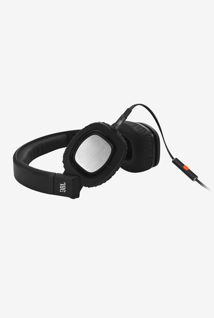 JBL J55I BLK On the Ear Headphone (Black)