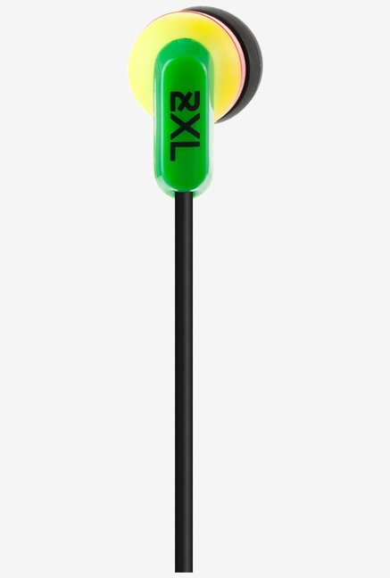 Skullcandy 2XL Whip In the Ear Headphone with Mic (Rasta)