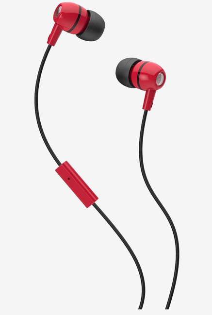 Skullcandy X2SPFY-838 In the Ear Headphone (Black/Red)