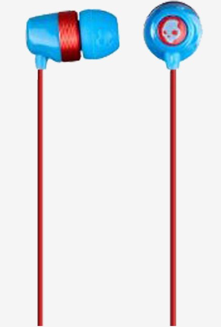 Skullcandy Riot DB In the Ear Headphone (Blue/Red)
