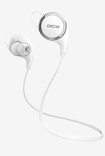QCY QCYRA-27 Qy8 V4.1 Wireless Bluetooth Headphones (White)