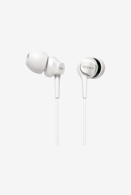 Sony MDR-EX60LP(W) In the Ear Headphones (White)