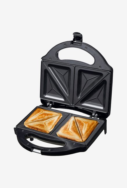 Wonderchef Prato 2 Slice 750 W Sandwich Maker (Black)