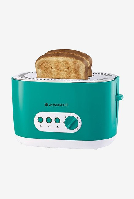 Wonderchef Regalia 2 Slice 780 W Toaster (Green)