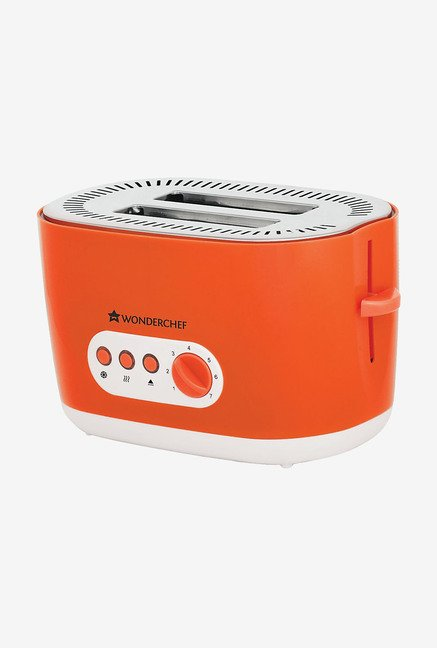 Wonderchef Regalia 2 Slice 780 W Toaster (Orange)