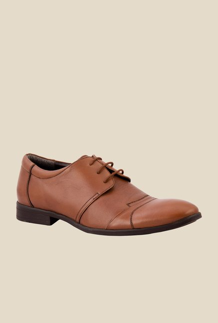 Salt 'n' Pepper Boss Almond Derby Shoes