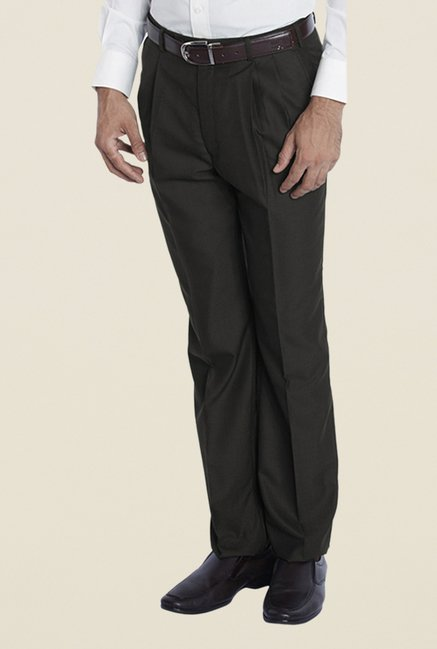 Raymond Brown Pleated Trouser
