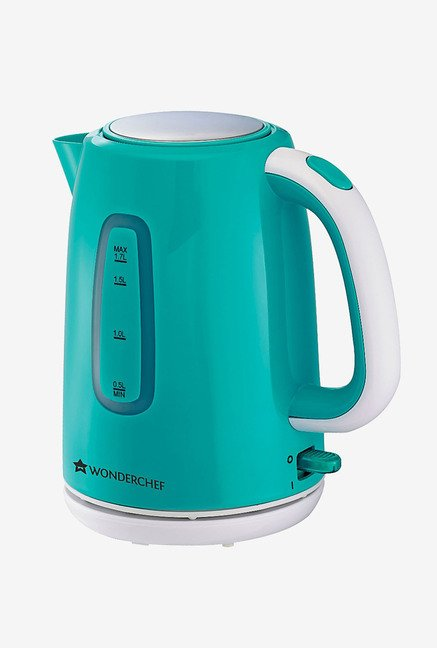 Wonderchef Regalia 1.7 L 1850 W Cordless Kettle (Green)