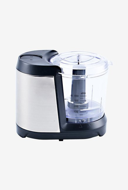 Wonderchef 400ml 135W Jumbo Chopper (Silver & Black)