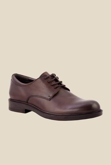 Salt 'n' Pepper Antartic Brown Derby Shoes
