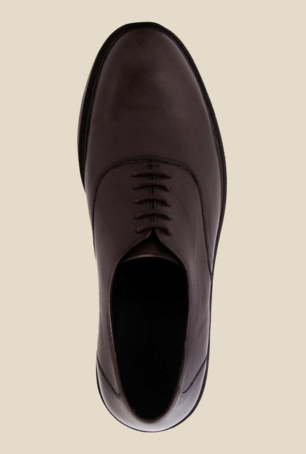 Salt 'n' Pepper Antartic Brown Oxford Shoes
