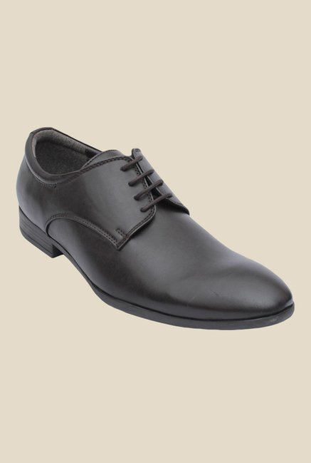 Salt 'n' Pepper Zoop Malvin Black Derby Shoes