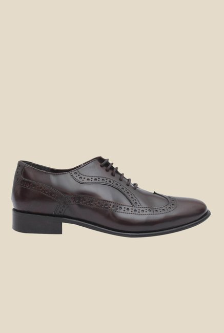 Salt 'n' Pepper Rafael Brown Oxford Shoes