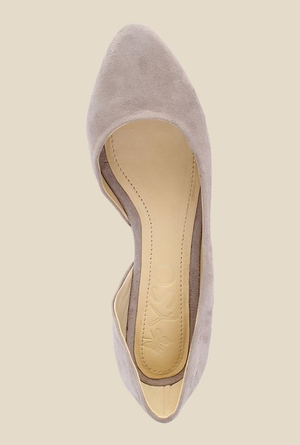 Salt 'n' Pepper Alisha Taupe D'orsay Shoes