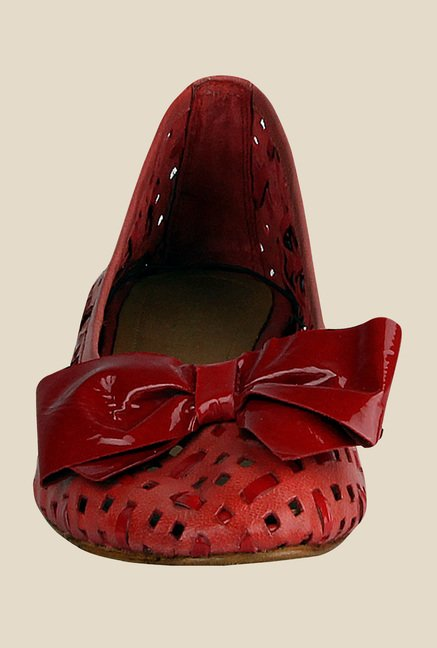 Salt 'n' Pepper Annie Red Flat Ballets