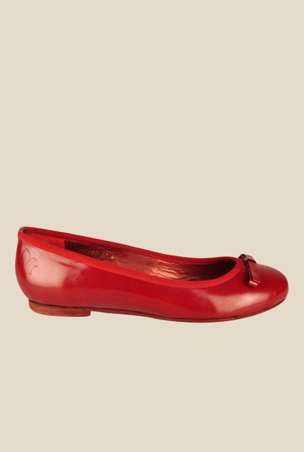 Salt 'n' Pepper Geminis Red Flat Ballets