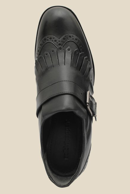 Salt 'n' Pepper York Black Casual Shoes