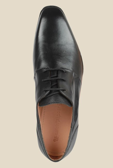 Salt 'n' Pepper Arman Black Derby Shoes