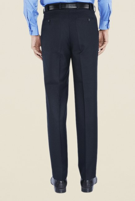 Park Avenue Navy Pleated Trouser