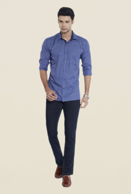 Raymond Blue Raw Denim Jeans