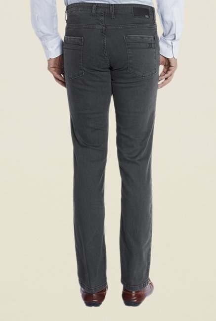 Raymond Grey Rinse Washed Jeans