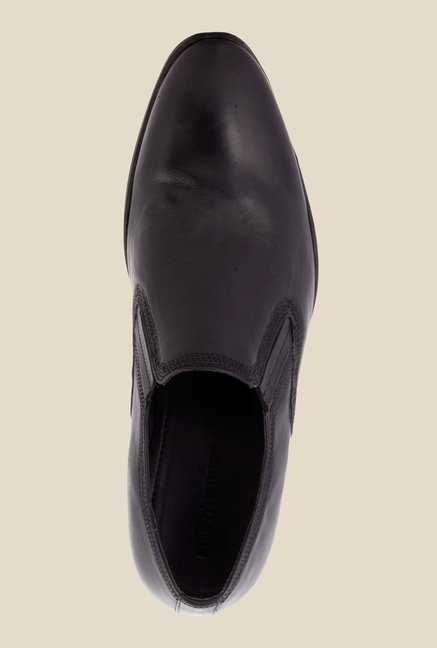 Salt 'n' Pepper Boss Black Formal Shoes