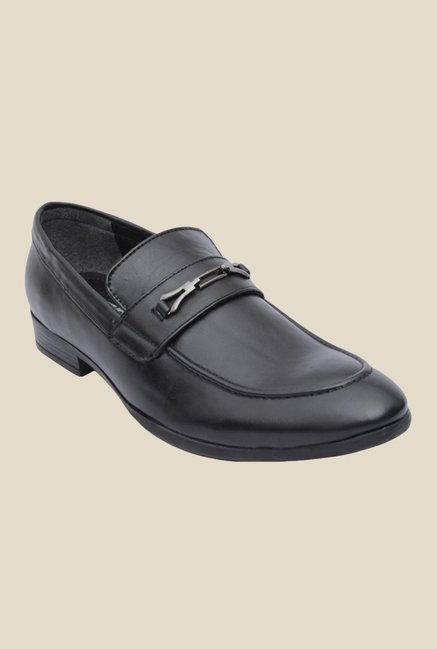 Salt 'n' Pepper Zoop Black Malvin Formal Shoes