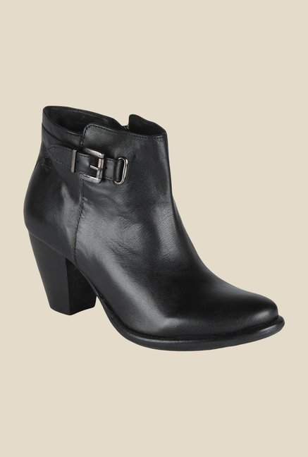 Salt 'n' Pepper Marsha Black Casual Boots