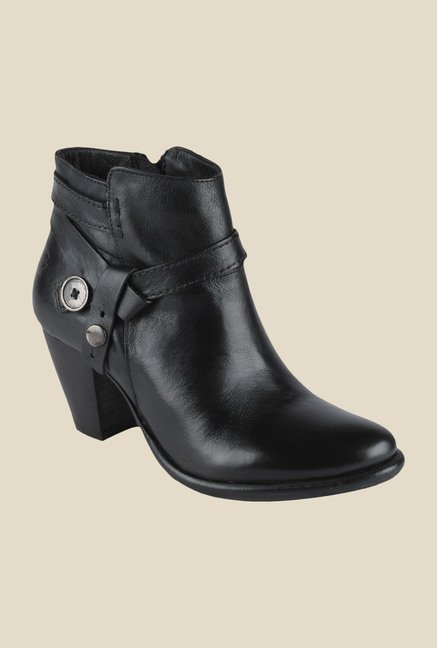 Salt 'n' Pepper Marsha Black Booties