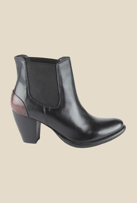 Salt 'n' Pepper Marsha Black Chelsea Boots