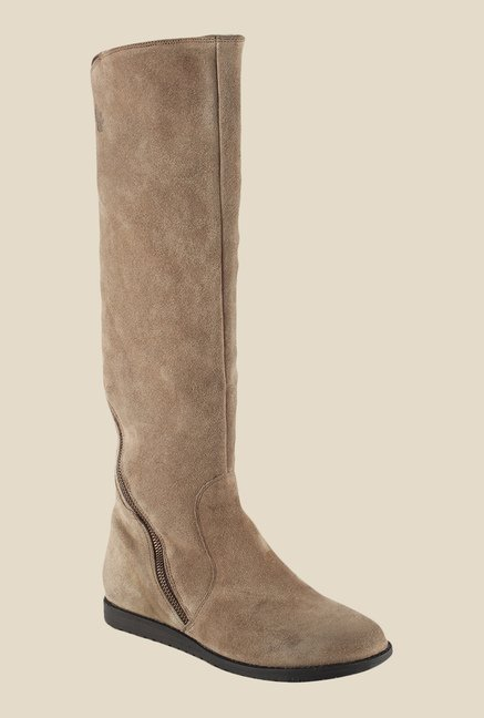 Salt 'n' Pepper Vennessa Sand Brown Casual Boots