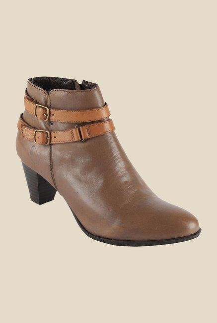 Salt 'n' Pepper Rosy Taupe Casual Boots