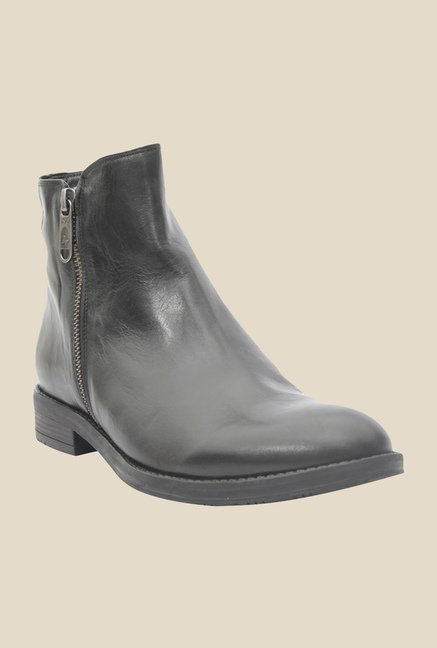 Salt 'n' Pepper England Black Formal Boots