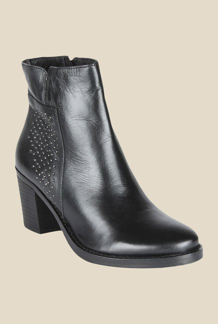 Salt 'n' Pepper Roxy Black Booties