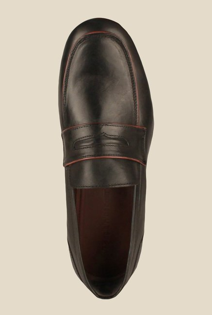 Salt 'n' Pepper Blade Black Formal Shoes