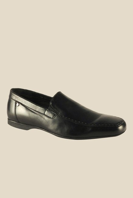 Salt 'n' Pepper Virtual Black Formal Shoes