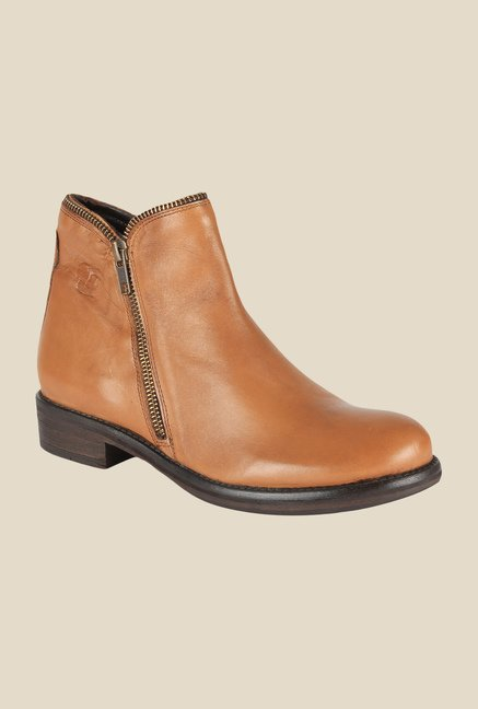 Salt 'n' Pepper Dorthea Almond Formal Boots
