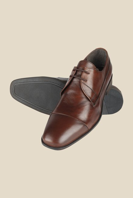 Salt 'n' Pepper Parker Brown Derby Shoes