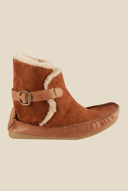 Salt 'n' Pepper Ozone Tan Snow Boots