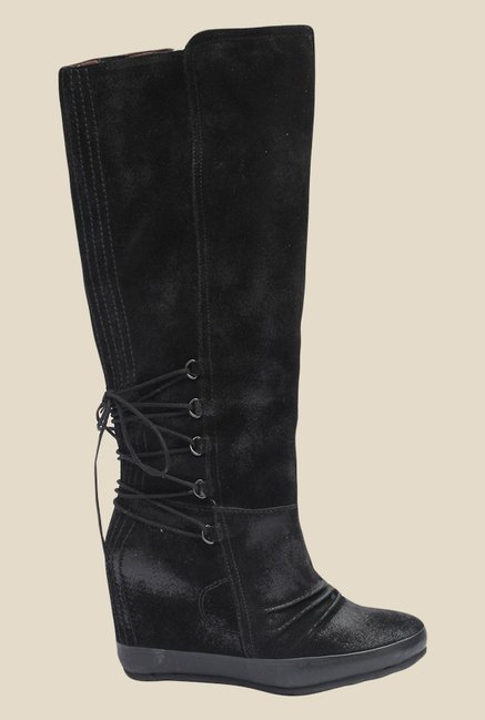 Salt 'n' Pepper Cynthia Black Casual Boots