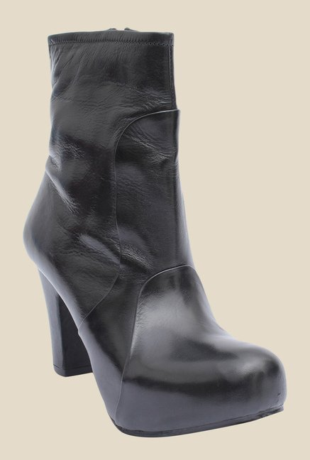 Salt 'n' Pepper Cherie Black Booties