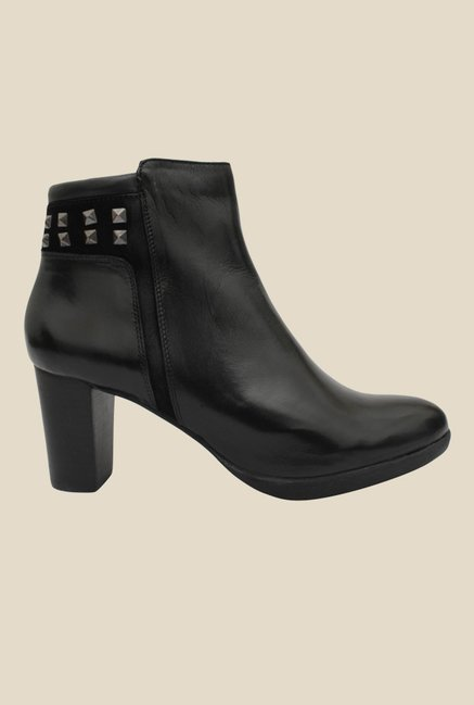 Salt 'n' Pepper Ryana Black Casual Boots
