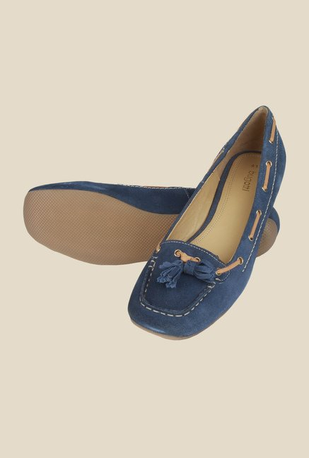 Salt 'n' Pepper Larissa Navy Moccasins