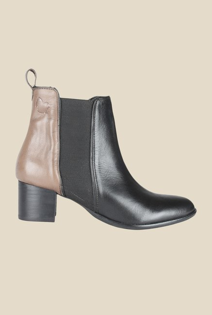 Salt 'n' Pepper Sophie Black & Seal Chelsea Boots