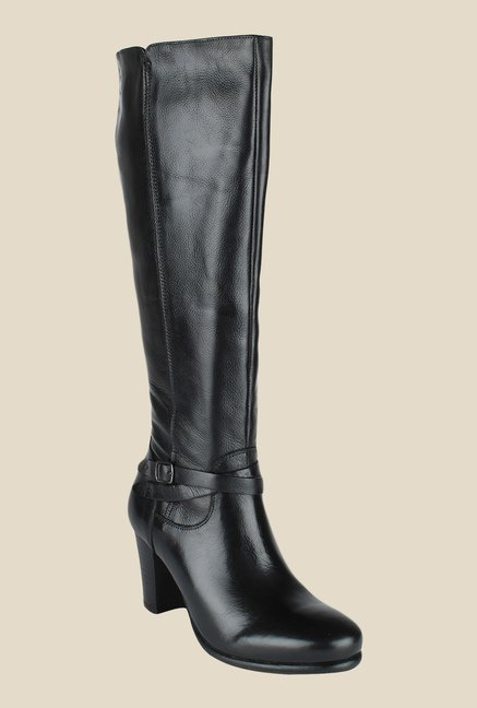 Salt 'n' Pepper Greta Black Casual Boots