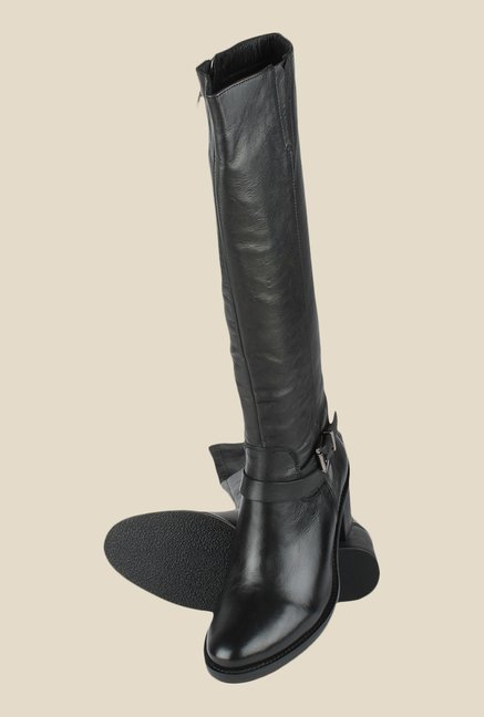 Salt 'n' Pepper Elle Black Casual Boots