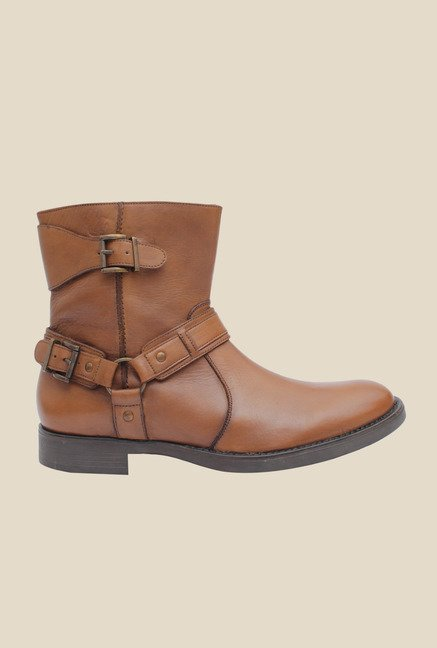 Salt 'n' Pepper Ray Tan Casual Boots