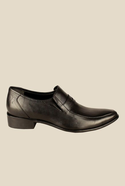 Salt 'n' Pepper Senator Black Formal Shoes